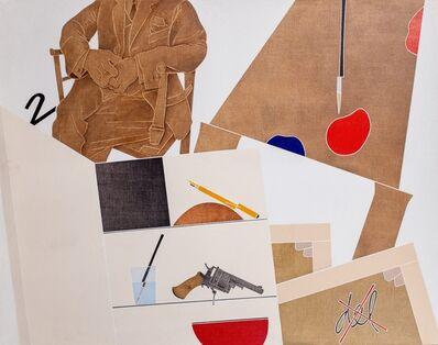 Emilio Tadini, 'Il desiderio del pittore', 1976