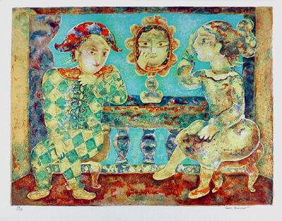Sakti Burman, 'Arlequin Amoureaux', circa 1979