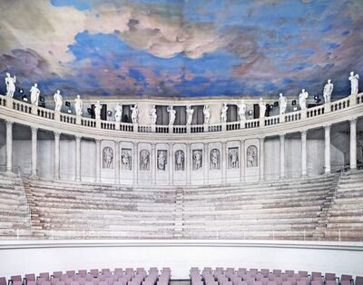 Candida Höfer, 'Teatro Olimpico Vicenza I 2010', 2010