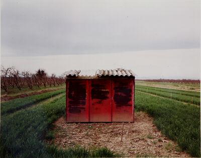 Guido Guidi (b. 1941), 'Baracca rossa', ca. 1985