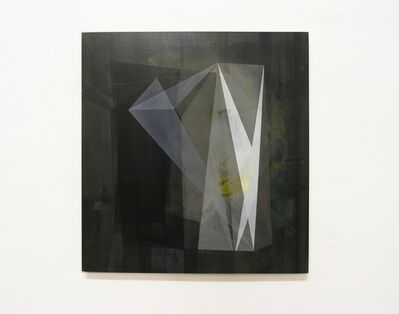 Irena Eden & Stijn Lernout, 'o.T. (370.395.14) acrylic on hdf on press board, 39,5 x 37 cm', 2014