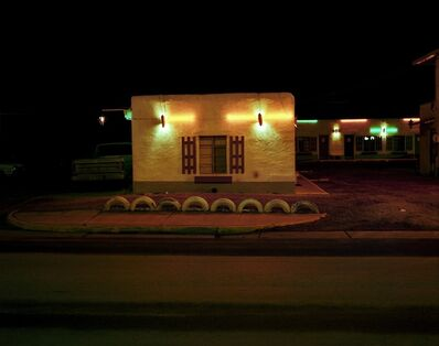 Steve Fitch, 'It'll Do Motel, Highway 66, Grants, New Mexico, January 11', 1982