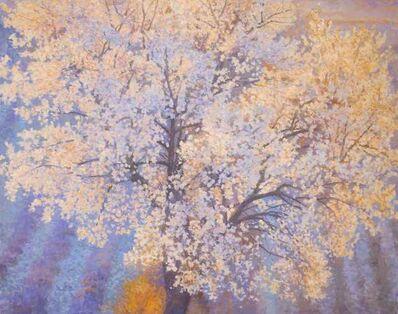Nicholas Verrall, 'Almond Tree in Blossom', 2018