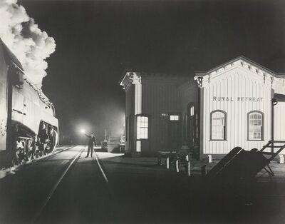 O. Winston Link, 'Birmingham Special, Rural Retreat, Virginia', 1957