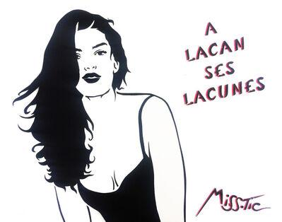Miss Tic, 'A Lacan ses lacunes', 2015