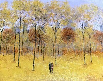 Patrick Antonelle, 'Autumn Stroll -Central Park VI', 2018