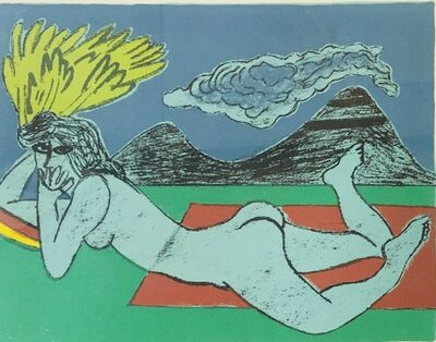 Corneille, 'Abstract Nude', 1985