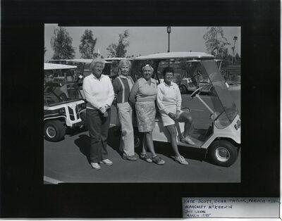 Allen Dutton, 'Kate Scott, Erma Taylor, Francine O'Neil, Margaret McKeekin', 1985