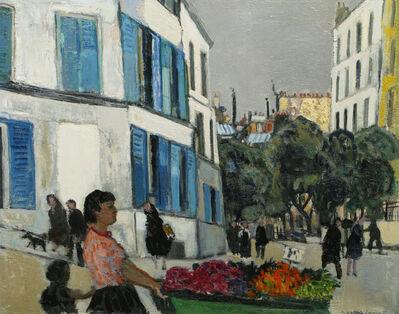 Bernard Lamotte, 'La Marchande des Fleurs (The Flower Vendor)', 20th Century