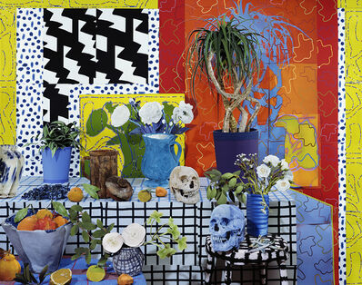 Daniel Gordon, 'Still Life with Skulls and White Flowers, 2021', 2021