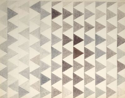 Perle Fine, 'Second Wave (Drawing #5)', 1967