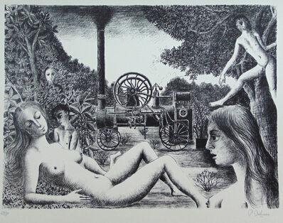 Paul Delvaux, 'Locomobile', 1970