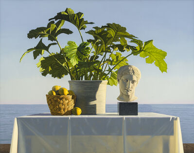 David Ligare, 'Still Life with Polykleitian Head and Ancathus', 2008