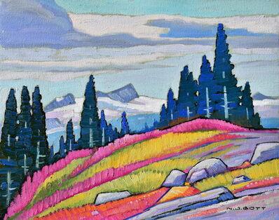 Nicholas Bott, 'Alpine Fire Weeds', 2020