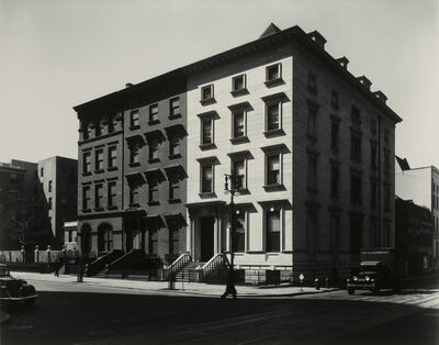Berenice Abbott, 'Fifth Avenue Houses, No. 4, 6, 8, New York, 1936', 1936