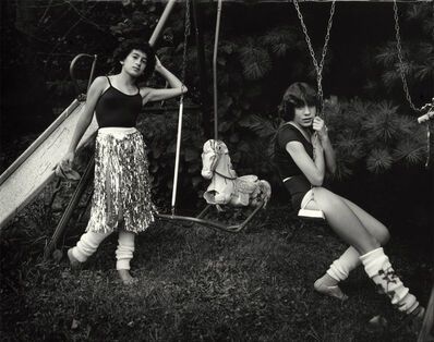 Sally Mann, 'Debbie and Becky on the Swing Set', 1983-1985