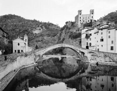Ebbe Stub Wittrup, 'Devil's Bridge #7, Ponte del Diavolo, Dolceacqua, Liguria, Italy', 2009