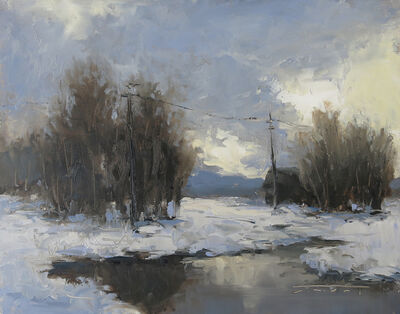 Jane Hunt, 'Winter Clouds', 2017