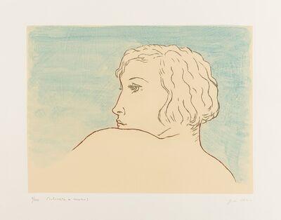 Giorgio de Chirico, 'Profilo di Donna (Brandani 16)', 1971