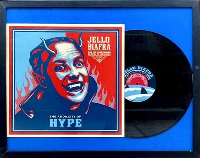 "Shepard Fairey, 'Jello Biafra ""The Audacity Of Hype""', 2009"