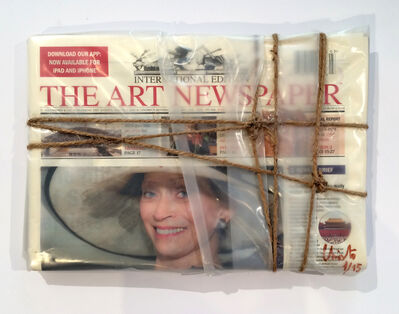 Christo, 'Wrapped The Art Newspaper', 2015