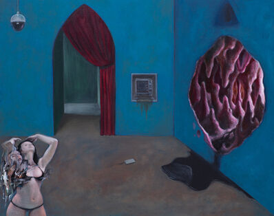 Nome Edonna, 'Blue Room 2', 2019