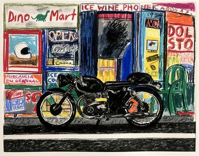 Erik Olson, 'Motorcycle: Dino Mart', 2019