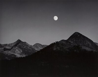 Ansel Adams, 'Moonrise from Glacier Point', 1939