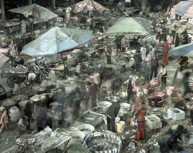 Qin Wen, 'Sea Food Market, Chongqing', 2011