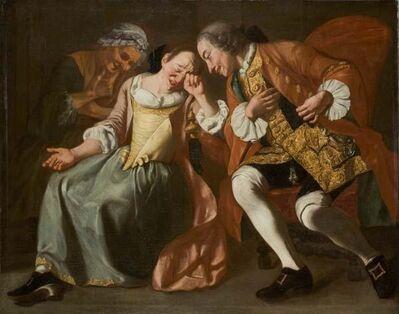 Gaspare Traversi, 'The Proposal', 18th century