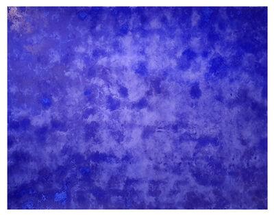 Julio Blancas, 'Azul fractus', 2019