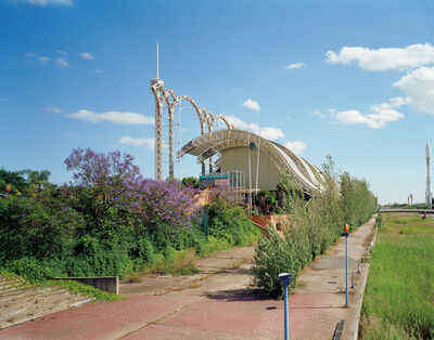 """Jade Doskow, ' Seville 1992 Worl'd Fair,"""" The Age of Discovery,"""" Environmental Pavilion', 2007"""