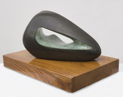 Barbara Hepworth, 'Figure in a Landscape (Zennor)', 1966