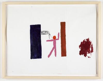 Chris Johanson, 'I Don't Give a Fuck', 2011