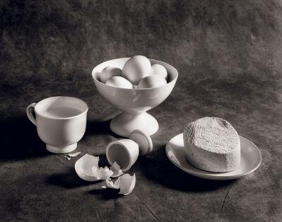 Arkady Lvov, 'Breakfast (Milk, Eggs and Cheese)', 1987