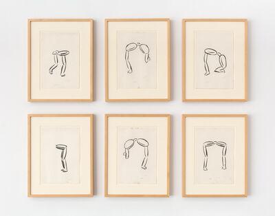 Michael Hurson, 'Six Eyeglass Drawings (Studies for Eyeglass Paintings)', 1969