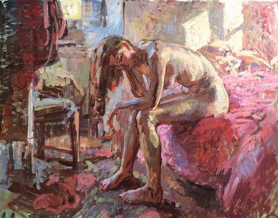 Ben Fenske, 'Sitting Nude, Bea', 2016