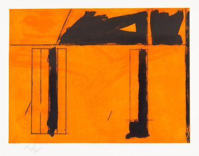 Robert Motherwell, 'La Casa de la Mancha', 1984