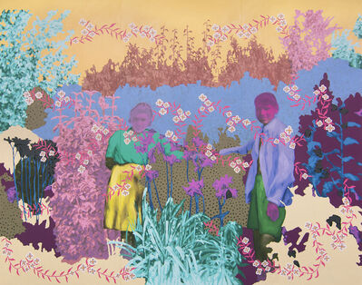 Daisy Patton, 'Untitled (Sweethearts Among the Lilies)', 2018