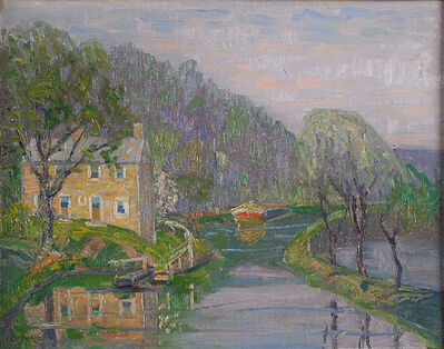 Fern Isabel Coppedge, 'Untitled (Grandpop Young's House on the Canal in Lumberville)', ca. 1920