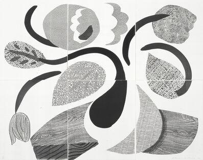 David Hockney, 'Dancing Flowers (MCA Tokyo 307)', 1986