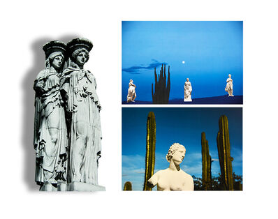 "Paloma Castello, 'Delirio Exótico #20, #10, and #12. Triptych. From the series ""Exotic Delirium""', 2020"