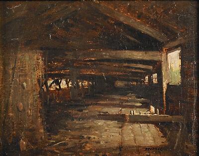 George M. Bruestle, 'Untitled (The Rope Walk at Essex Conn.)', 1887