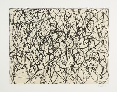 Brice Marden, 'Cold Mountain Series, Zen Study 2', 1992