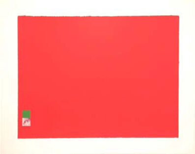 Marc Vaux, 'Untitled (Red)', 1971