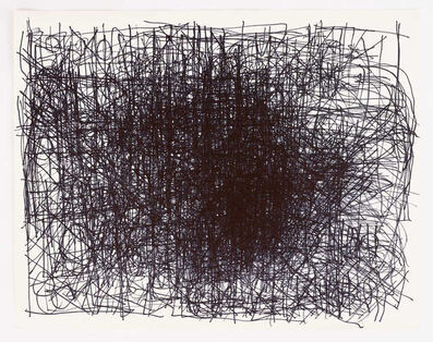 Dan Miller, 'Untitled (Central dense black lines)', 2013