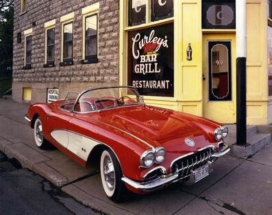 Bruce Wrighton, '1958 Corvette, Curley's Bar and Grill, Johnson City, NY', 1987