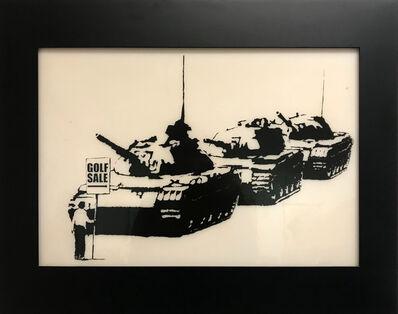Banksy, 'Golf Sale Print Plate', 2003