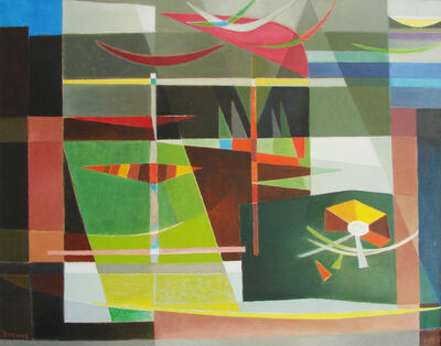 Werner Drewes, 'Escape from Winter / Southward Migration', 1982