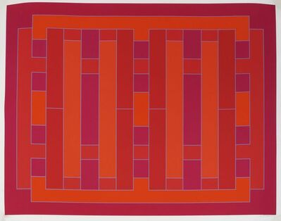 Peter Stroud, 'Untitled - Red', 1971